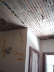 lath board ceiling