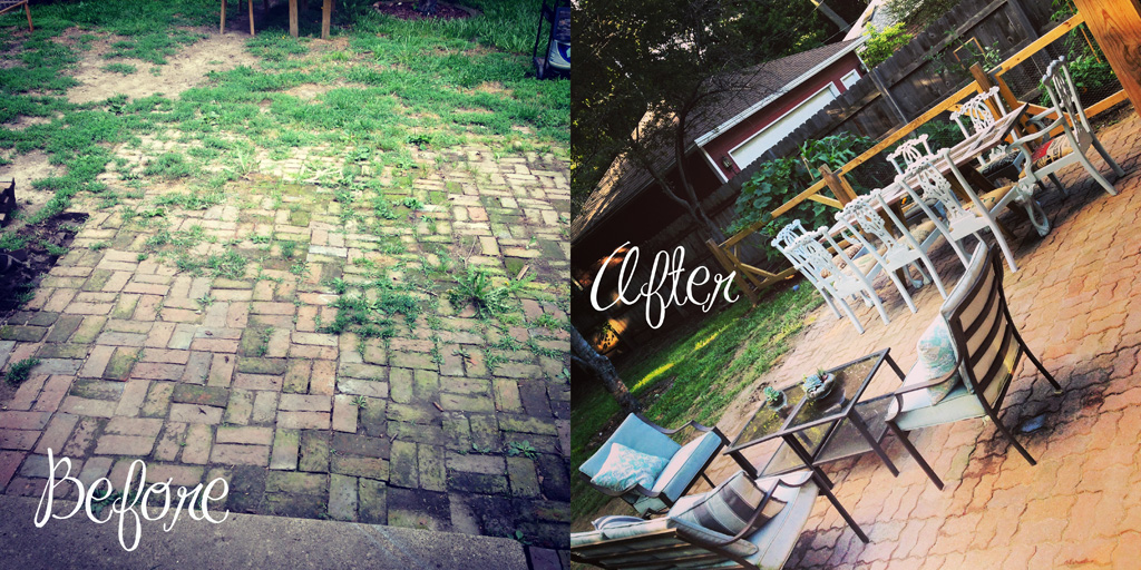 The 18 Hour DIY Brick Patio – 1st, the bricks - The 18 Hour DIY Brick Patio – 1st, The Bricks – Fall Creek Eclectic