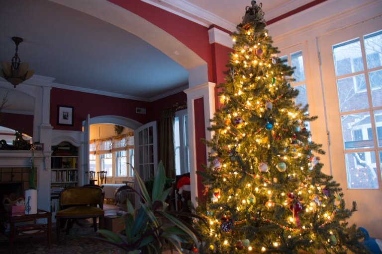 The main tree in the parlor