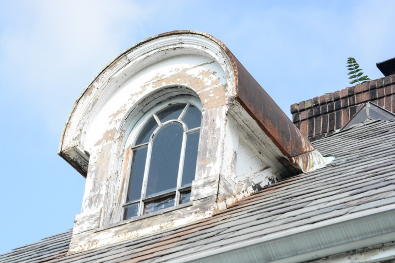 French Eclectic Dormer